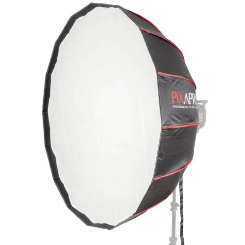 PiXAPRO 105cm 16 Sided Easy-Open Rice Bowl Softbox