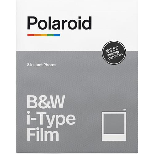 Polaroid Originals Black and White Film for i-Type Cameras