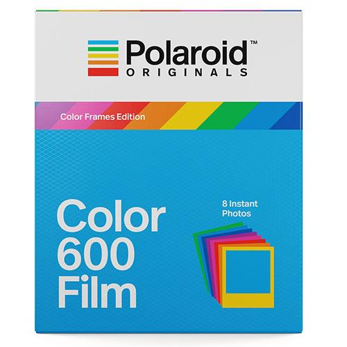 Polaroid Originals Colour Film with Colour Frames for Polaroid 600 Camera