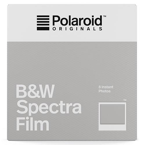 Polaroid Originals Black and White Film For The Polaroid Spectra