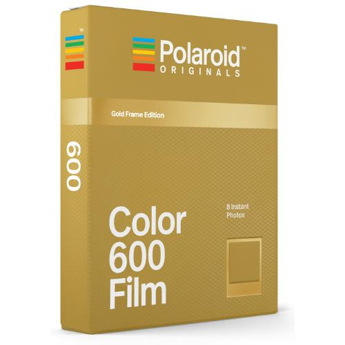 Polaroid Originals 600 Colour Gold Frame