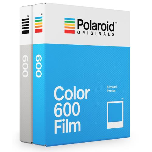 Polaroid Originals Originals 600 Colour and B&W Twin Pack