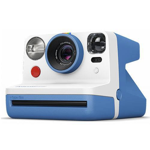 Polaroid Now i-Type Instant Camera in Blue - Ex Display