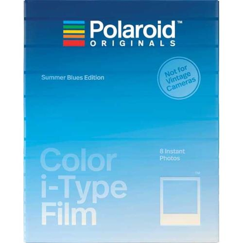 Polaroid Originals Colour Film Summer Blues Edition for Polaroid i-Type Cameras