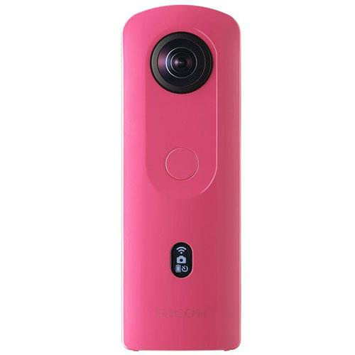 Ricoh Theta SC2 360 Action Camera in Pink