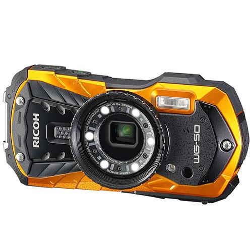 Ricoh WG-50 Digital Camera in Orange