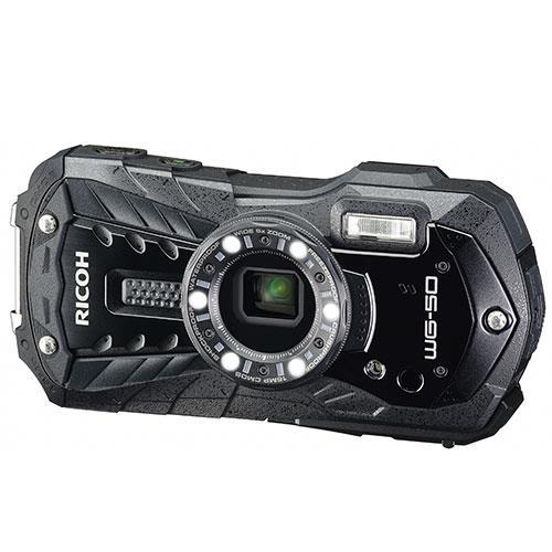 Ricoh WG-50 Digital Camera in Black
