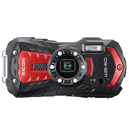 Ricoh WG-60 Digital Camera in Red