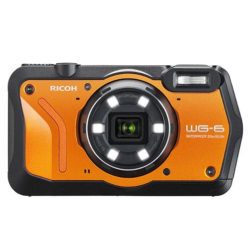 Ricoh WG-6 Digital Camera in Orange