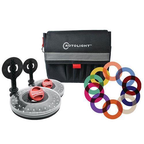 Rotolight RL48-B 2x LED Ring Light Interview Kit V2