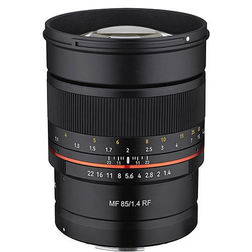 Samyang MF 85mm f/1.4 Lens for Canon RF