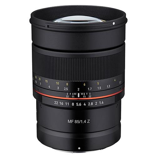 Samyang MF 85mm f/1.4 Lens for Nikon Z