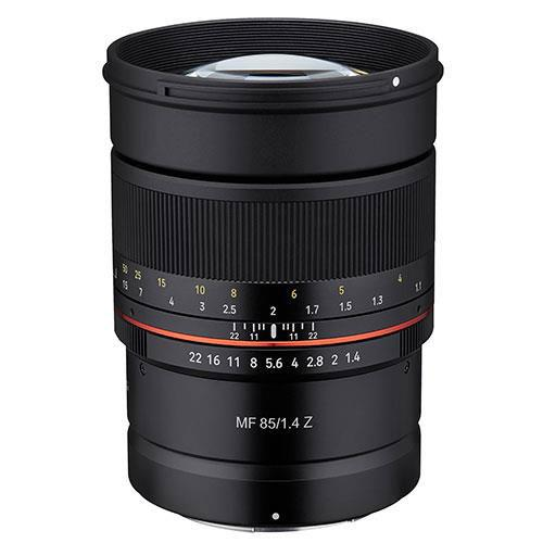 Samyang MF 85mm f/1.4 Lens for Nikon Z - Ex Display