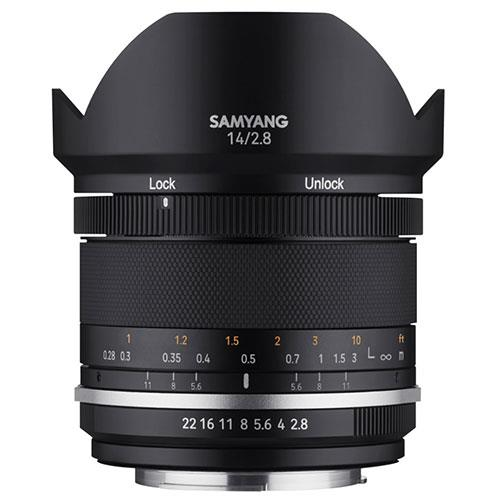 Samyang MF 14mm F2.8 MK2 Lens for Canon EF