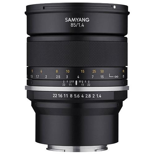 Samyang MF 85mm F1.4 MK2 Lens for Sony FE