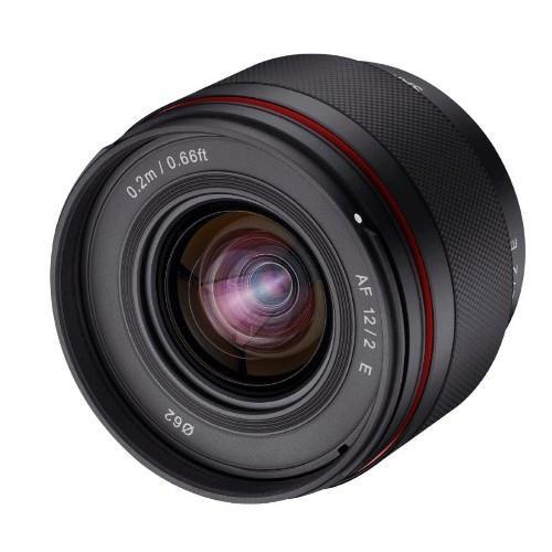 Samyang AF 12mm F2.0 Lens Sony E-Mount