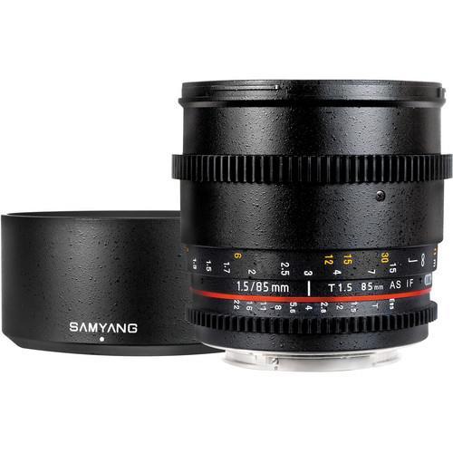 Samyang 85mm T1.5 Cine Lens - Canon EF Mount