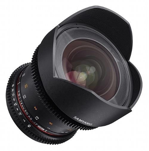 Samyang 14mm T3.1 VDSLR II ED AS IF UMC Lens for Canon