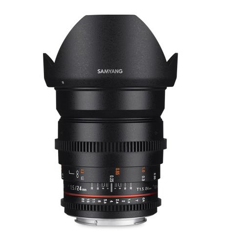 Samyang 24mm T1.5 ED AS UMC II Lens for Canon