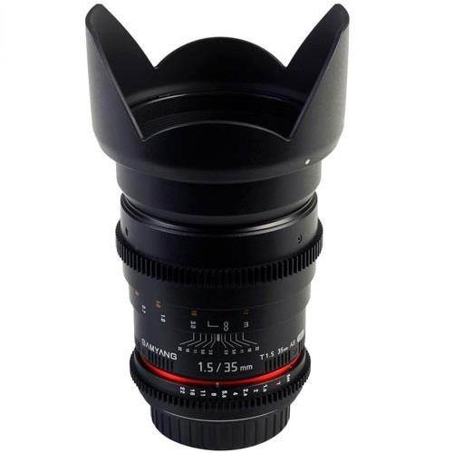 Samyang 35mm T1.5 AS UMC VDSLR II Lens for Canon