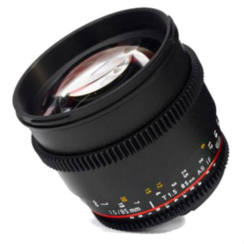 Samyang 85mm T1.5 AS IF UMC VDSLR II Lens for Canon