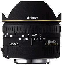 Sigma 15mm F2.8 EX DG Diagonal fisheye lens (Sony A Mount)