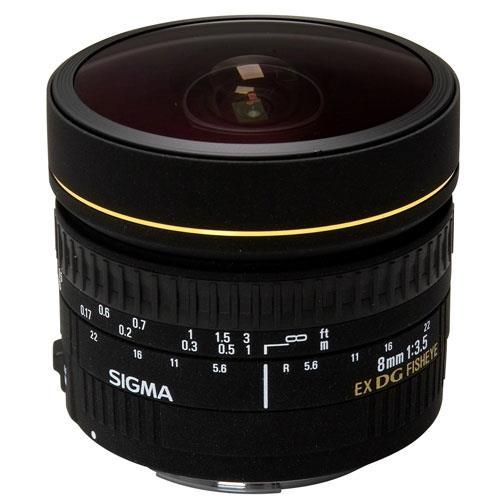 Sigma 8mm f/3.5 EX DG Circular Fisheye Lens for Canon