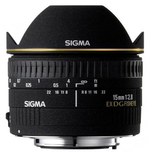 Sigma 15mm f/2.8 EX DG Diagonal Fisheye Lens (Nikon AF)
