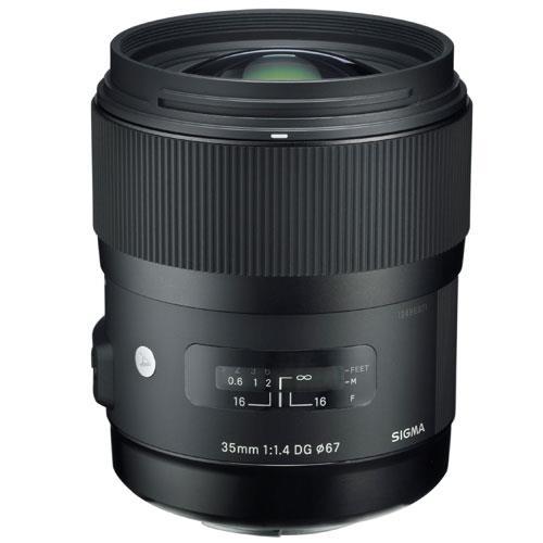 Sigma 35mm f/1.4 DG HSM A Lens (Nikon AF)