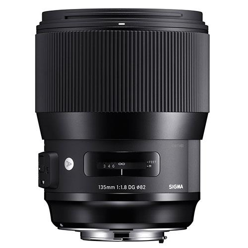 Sigma 135mm f/1.8 DG HSM Lens Canon Fit