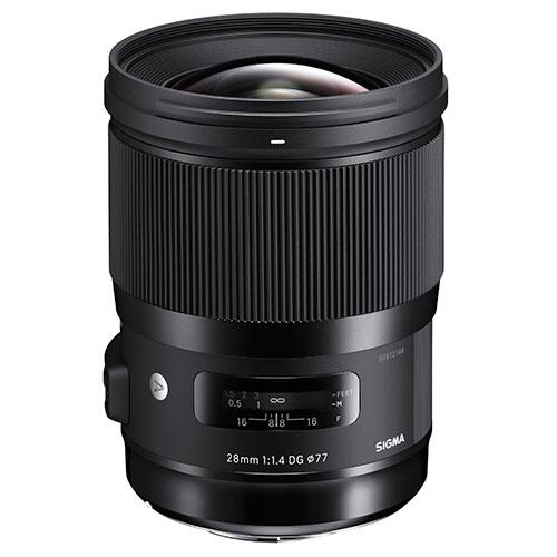 Sigma 28mm f/1.4 DG HSM Art Lens for Nikon