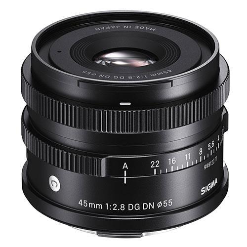 Sigma 45mm f/1.8 DG DN Lens Sony E-Mount