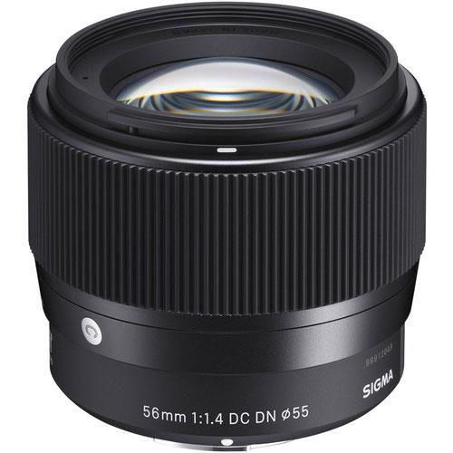 Sigma 56mm F/1.4 DC DN C Lens - Sony E-Mount