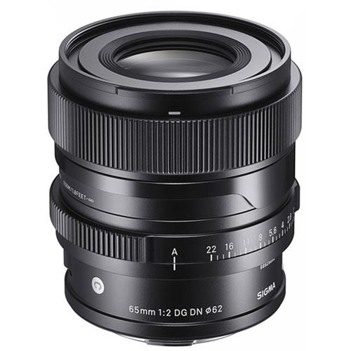 Sigma 65mm f/2 DG DN C Lens for Sony E-Mount