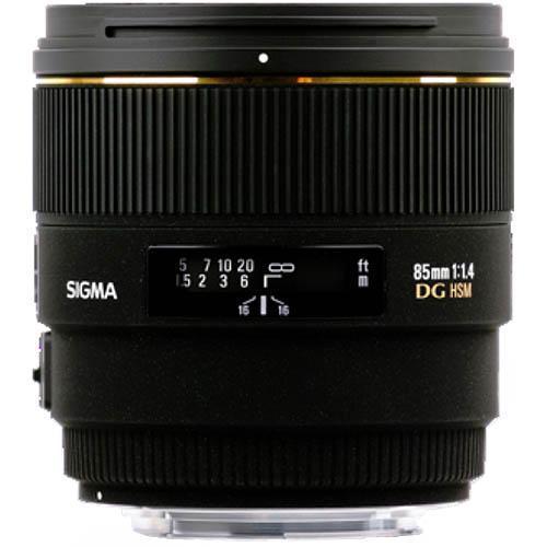 Sigma 85mm f1.4 EX DG Lens for Sony AF