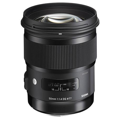Sigma 50mm f/1.4 DG HSM Art Lens - Canon Fit