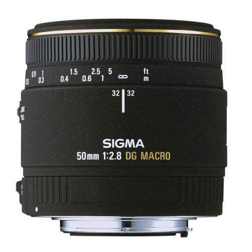 Sigma 50mm f/2.8 EX DG Macro Lens Canon fit - Ex Display