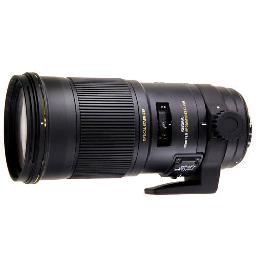 Sigma 180mm f/2.8 APO Macro EX DG OS HSM Lens (Nikon Fit)