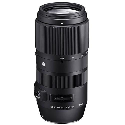 Sigma 100-400mm f/5-6.3 DG OS HSM Lens for Canon