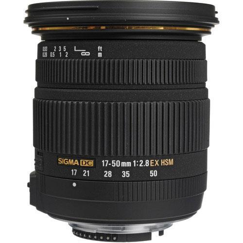 Sigma 17-50mm f2.8 EX DC OS HSM Lens - Nikon AF