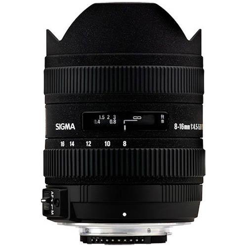 Sigma 8-16mm f4.5-5.6 DC Lens for Canon EF-S