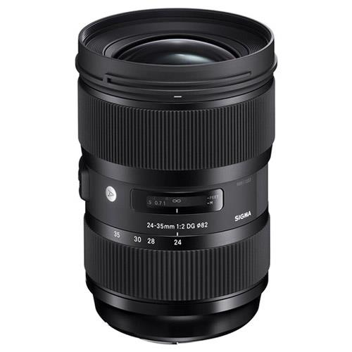 Sigma 24-35mm f/2 DG HSM Lens for Nikon