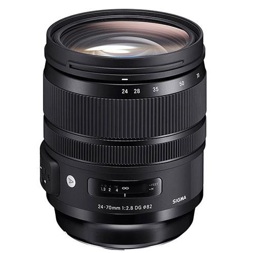 Sigma 24-70mm f2.8 DG OS HSM I A Lens for Canon