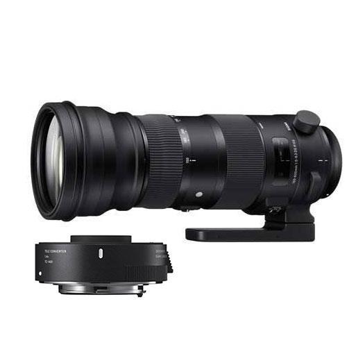 Sigma 150-600mm f/5-6.3 S DG OS HSM S Lens Nikon Fit with TC-1401 1.4x Converter