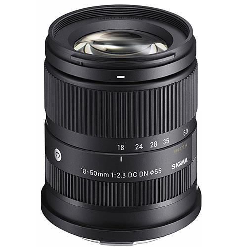 Sigma 18-50mm F2.8 DC DN C Lens - Sony E-Mount