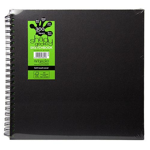 Sinclair Shady Artgecko Square Sketchbook