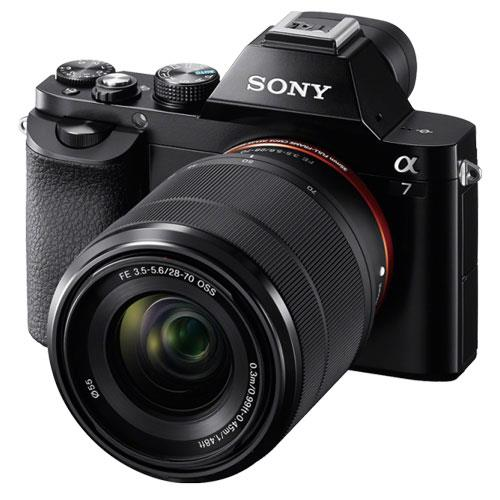 Sony a7 Mirrorless Camera with 28-70mm Lens