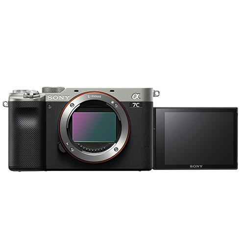 Sony a7C Mirrorless Camera Body in Silver