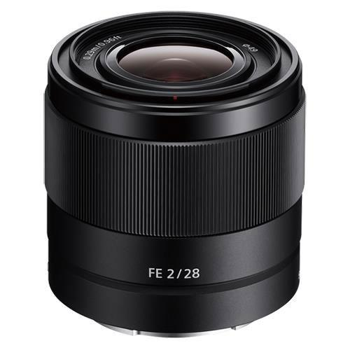 Sony FE 28mm f/2 Lens - Ex Display