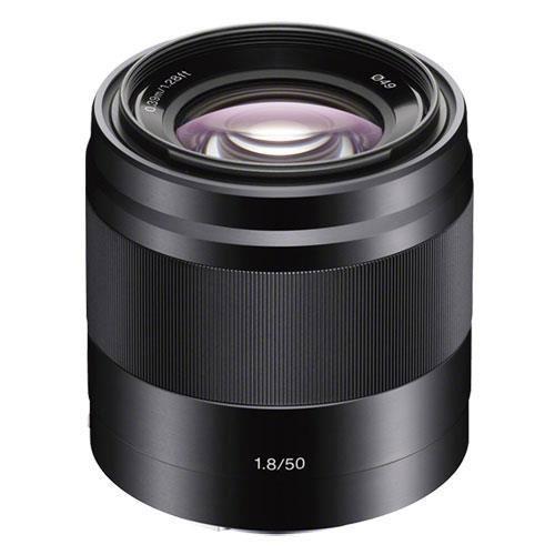 Sony E 50mm f/1.8 OSS Lens - Ex Display